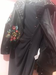 Jakna s velicina nova, i haljina elegantna siva. Haljina na nitne do - Novi Sad