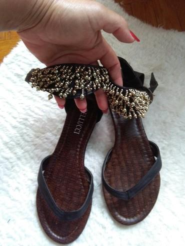 Sandale japanke 37,nosene jednom,prelepo stoje vidi slike - Sombor