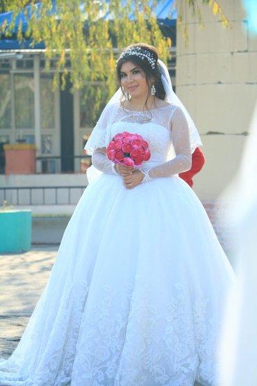Свадебное платье на прокат. можно в Лебединовка