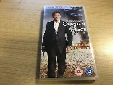 Psp - Ελλαδα: QUANTUM OF SOLACE UMD VIDEO FOR PSP