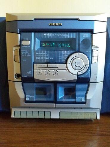Pojacalo - Srbija: AIWA NSX-SZ 100 Digital audio systemSuper T -BASS -pojacanje bas
