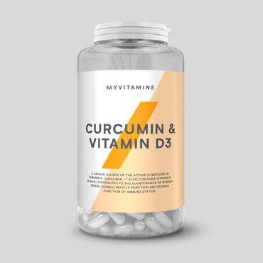 MYPROTEIN Куркумин и витамин D3Уникальное сочетание куркумина (E100) и