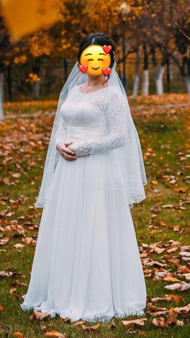 Продаётся свадебное платье одевали всего один раз очень красивое