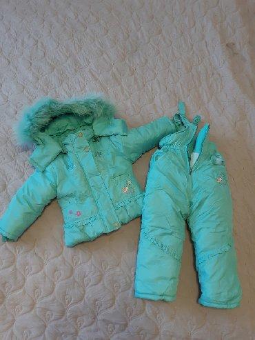 sambovka green hill в Кыргызстан: Комбинезон зимний НОВЫЙ на 2-3 года(на худенькую девочку). не одевали