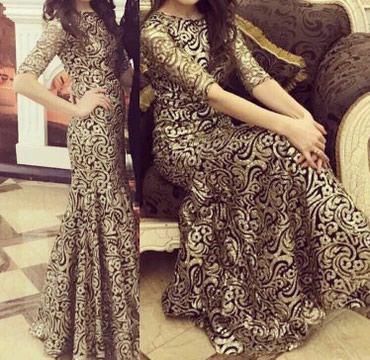 Продаётся шикарное платье!Одевали в Бишкек
