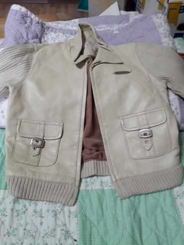трикотажные кофты оптом в Кыргызстан: Демисезонная курточка для ребенка 2-3х лет рукава трикотажные в