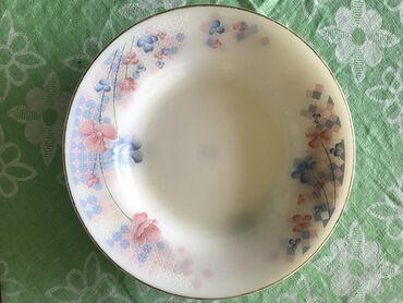 Boşqablar - Azərbaycan: Тарелки для супа 6 шт бу 10 м