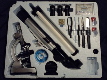 Telescope/Microscope Set. 900x Microscope and 30mm Telescope with 20X, σε North & East Suburbs