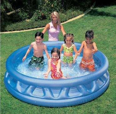 kosmik tematika konstruktorlari - Azərbaycan: Uşaqların şişmə havuzu olan üç hava otağı olan SIRALAMA PLANI, müasir