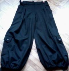 женские-брюки-черные в Кыргызстан: Кашемировые султанки. шикарное качество. размер 52 - 54