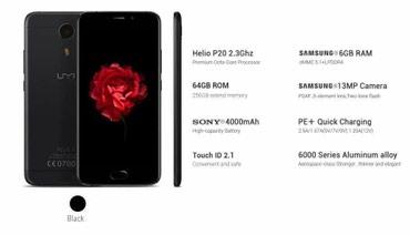 Huawei mate 9 pro 64gb - Srbija: UMi Plus Extreme Duos - moćan telefon sa ogromnih 6gb Ram memorije i