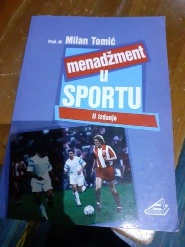 Menadzment u sportu-Prof.dr.Milan Tomic