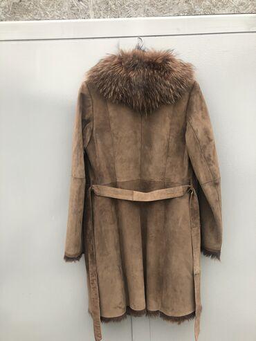 одежда для беременных в Кыргызстан: Продаю дублёнку натуралку, женскую размер 50. Состояние идеальное. 100