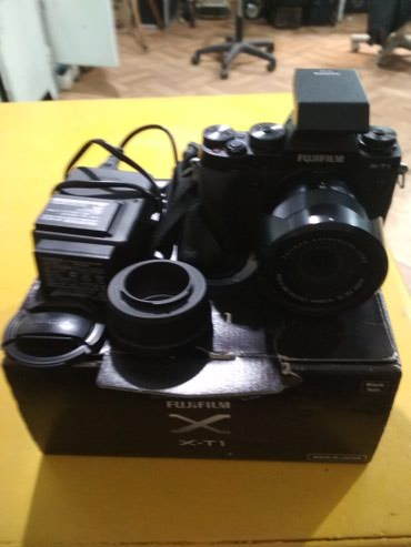 Продаю фотоаппарат FUJIFILM X-T1 с в Бишкек