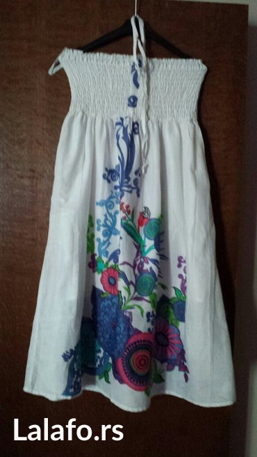Nova letnja haljina, veličina 38, 40, sa postavom - Velika Plana