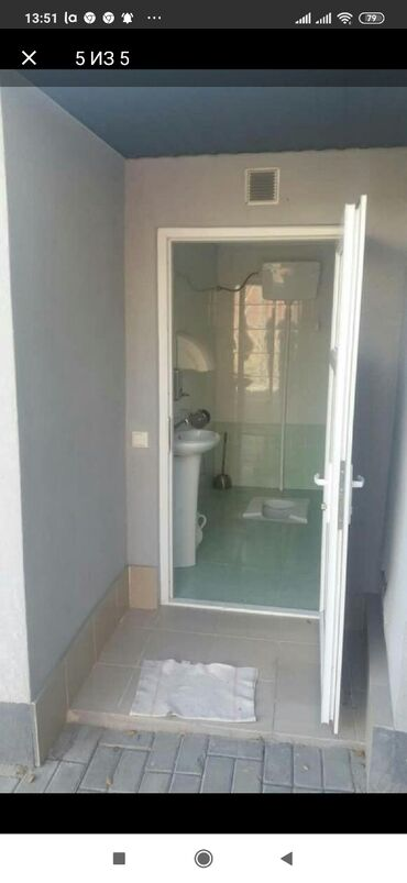 Дома - Кыргызстан: Здаю дом 3ком с удобствами баня ванна без хозяев +гараж окна пластик