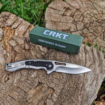 """Складной Нож: """"CRKT"""" ⠀ Сталь: 8Cr13MoV Рукоять: металлическая Длина кл"""