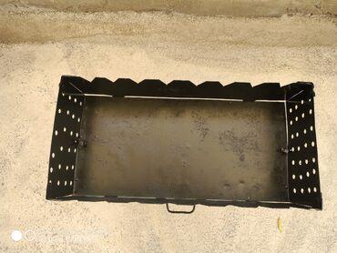 smoker koptilnja gril mangal в Кыргызстан: Недорого! Продаю широкий сборный мангал ( дипломат ) из очень хорошего