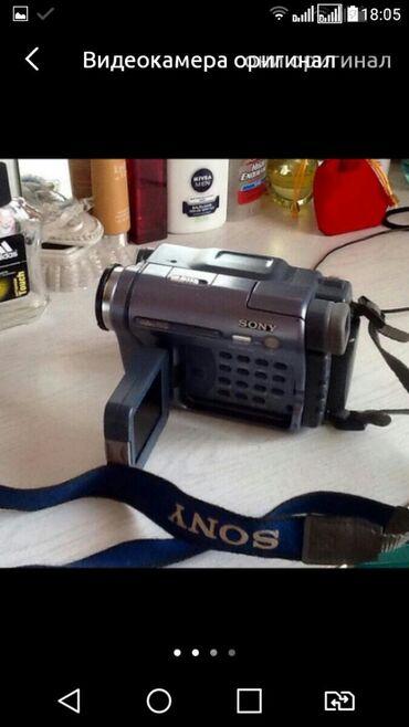 video-kamera-dlja-skajpa в Кыргызстан: Видеокамера сони оригинал