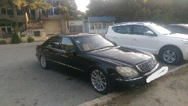 Mercedes-Benz Sumqayıtda: Mercedes-Benz S 500 3 l. 2000 | 320000 km