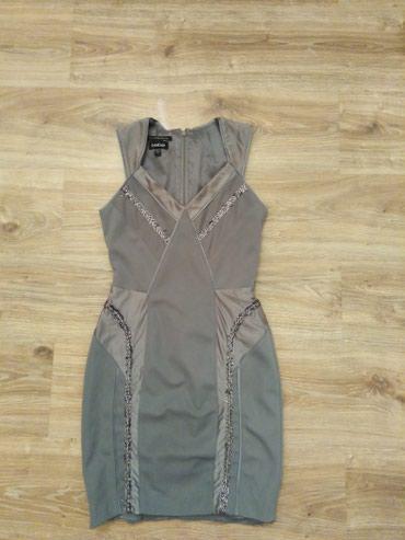 plate bebe в Кыргызстан: Платье Bebe оригинал. Очень красиво сидит. Размер S