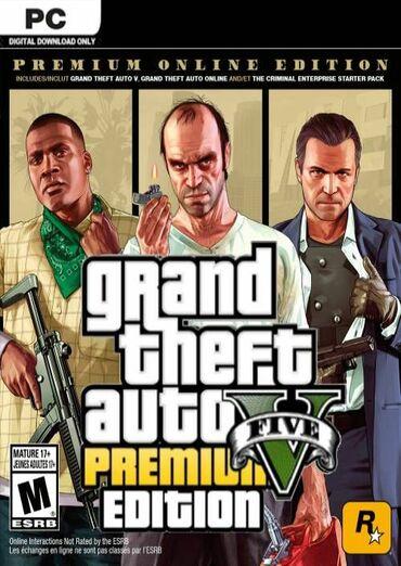Ostale igre i konzole | Srbija: ZALIHE OGRANICENE!   Grand Theft Auto V Premium Edition  Igrica za koj