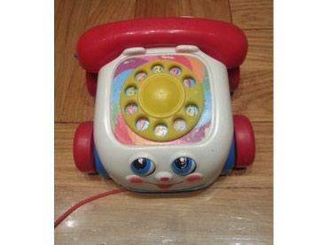 Fisher Price - Telefon koji moze da se vuce I okice se tad pomeraju.. - Belgrade