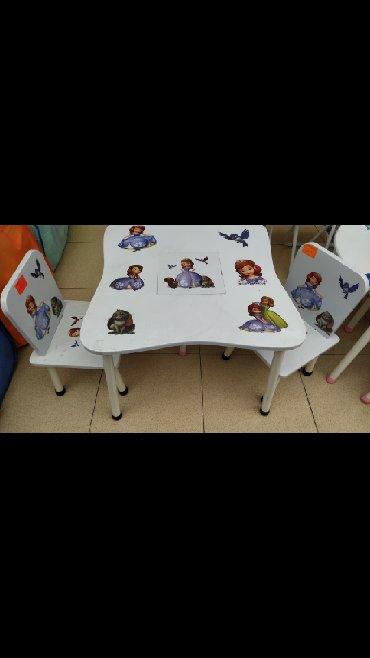 uşaq masaları - Azərbaycan: Usaq üçün masa ve oturacaq 60#60olcu
