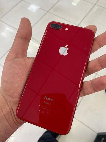 Apple Iphone - Azərbaycan: İşlənmiş iPhone 8 Plus 64 GB Qırmızı