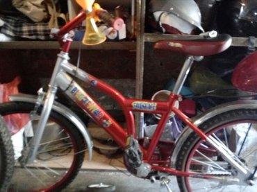 Deciji bicikl,odlican.gume ispustile od stajanja,dete vozilo jednom - Crvenka