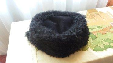 Subara - tokica od astragana obima 60 cm crne boje blic joj je dodao - Paracin