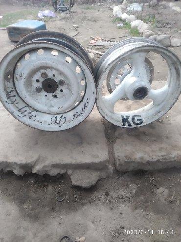 Другая мототехника в Бишкек: Продаю диски на скутер размер R13, задний диск авто очень красиво