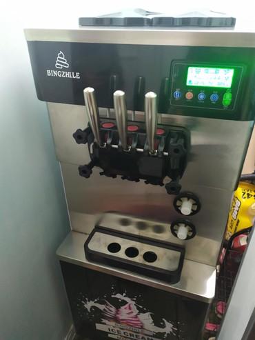тайское мороженое в Кыргызстан: Новый аппарат для мягкого мороженого с воздушной помпой и с ночным