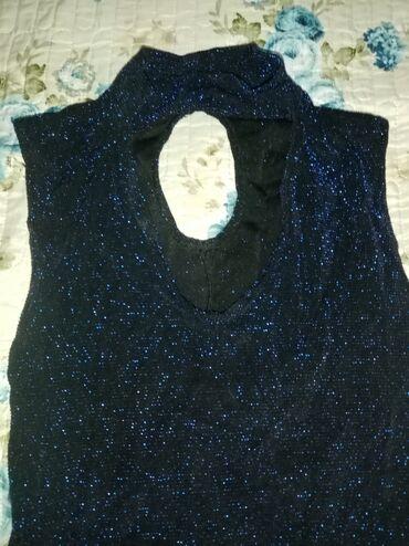 вечернее платье из франции в Кыргызстан: Темно синее вечернее платье, облегает фигуру, производство Франция