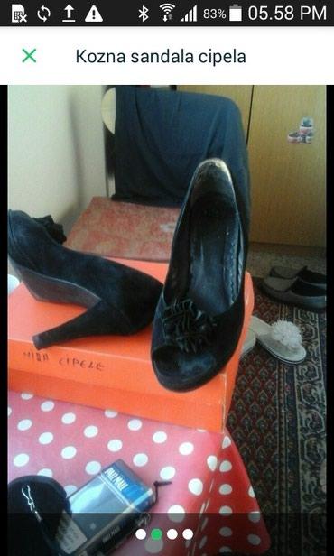 Kožna sandala cipela - Cacak