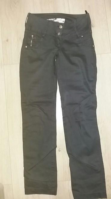 Pantalone sa - Srbija: Pantalone sa dubljim strukom,broj 36