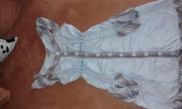Haljinica letnja, teksas velicine S, bez rukava, koriscena ali - Vrsac