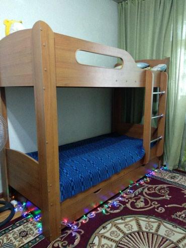 2-х ярусная кровать . длина-1.97 ширина-87 высота -1.50   в Бишкек