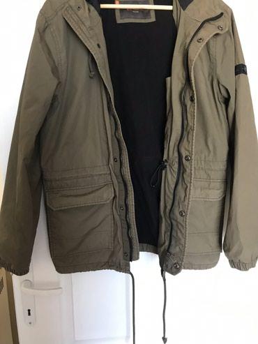 Prelepa zeleno braon jakna muska vel L nosena ali neostecena - Kraljevo