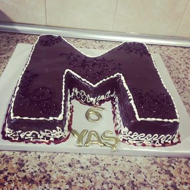 Bakı şəhərində Sokoladli tort