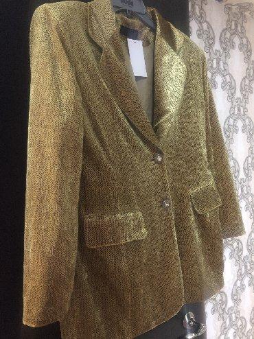 Пиджак женский, Новый, покупала в Италии цвет яркий, размер 48-54, фот