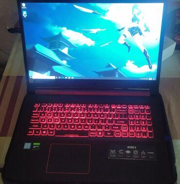 fly fs403 cumulus 1 - Azərbaycan: Acer Nitro 5 an517-51 laptop satılır. Üzərində çuxol və adapter