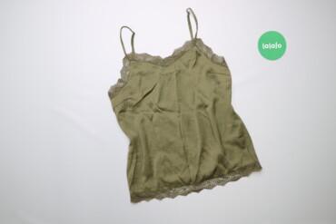 Женская одежда - Украина: Жіноча блуза з мереживними вставками на бретелях Vila, p. M    Довжина