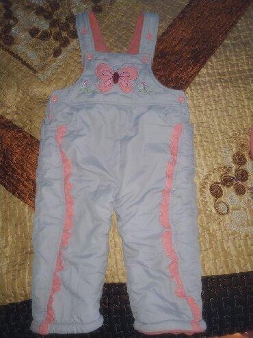 Верхняя одежда в Каинды: Теплые штанишки на 2-2,5 годика