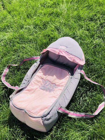 Переноска детская В комплекте подушечка и съёмный солнцезащитный козыр