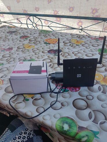 Аксессуары для ТВ и видео - Кара-Суу: Wi-Fi роутер сатам 3 Ошка симкартасы менен, жаны 3200 алынган 2500 сат