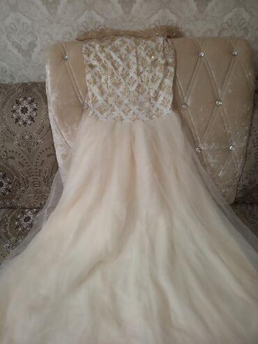 вечернее платье в горошек в Кыргызстан: Продаю вечернее платья. 1 раз только надела