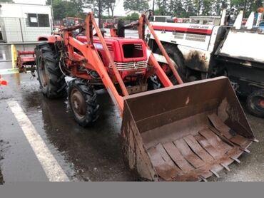 Сельхозтехника - Красный - Бишкек: Продается Японский трактор с Ковшей и фрезой. Техника в пути. По предо