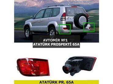 arxa stoplar bu gx 470 - Azərbaycan: Toyota Prado FJ120 arxa duman işıqları 4500 modelə yaxın əlimizdə