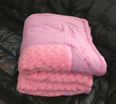 двуспальное одеяло из шерсти в Кыргызстан: Одеяло с наполнителем из бамбука,можно использовать как плед или